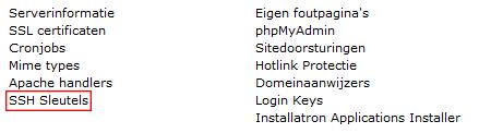 SSH Sleutels