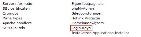 Login Keys